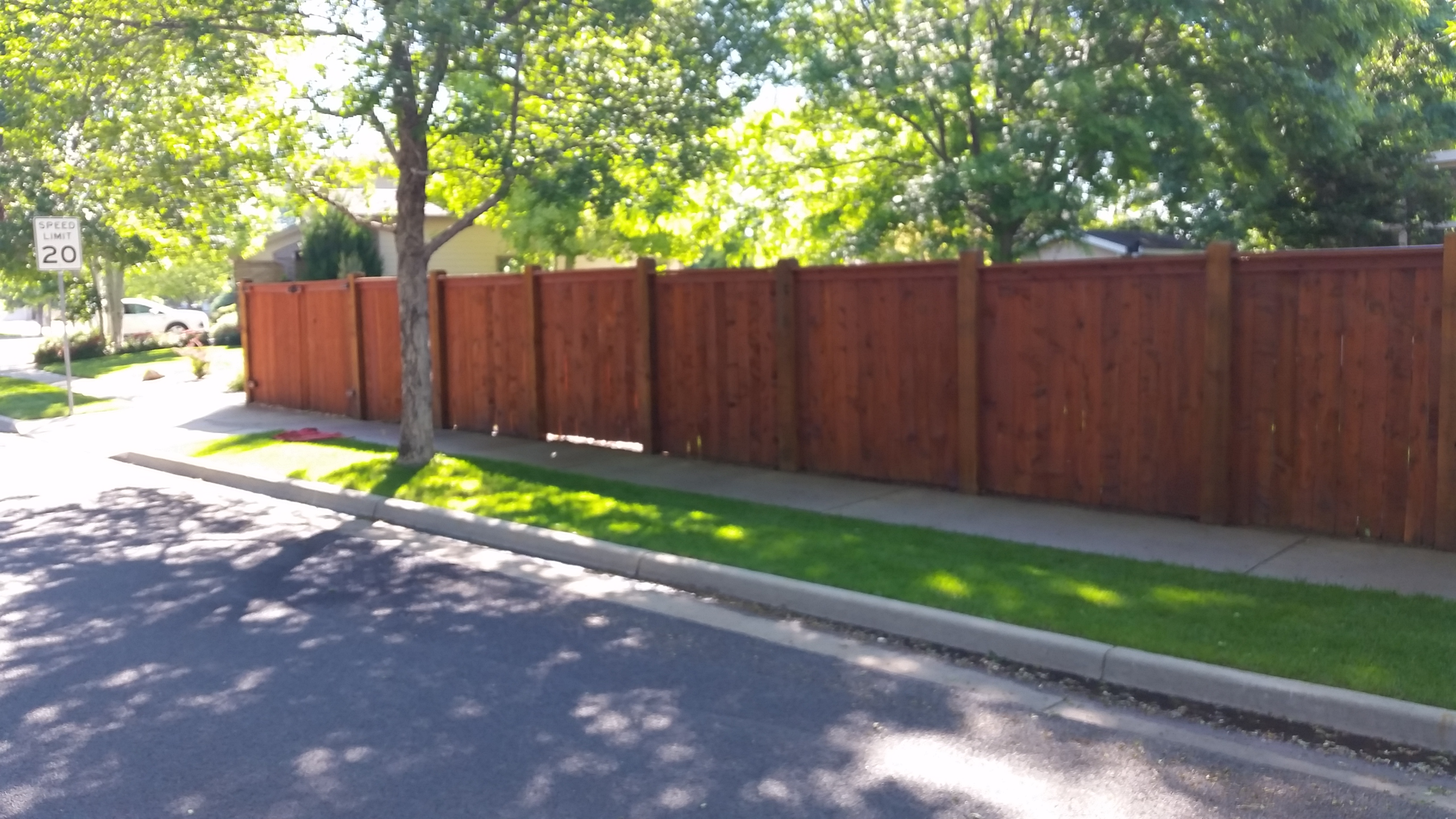 Fort Collins/Loveland Fence Staining