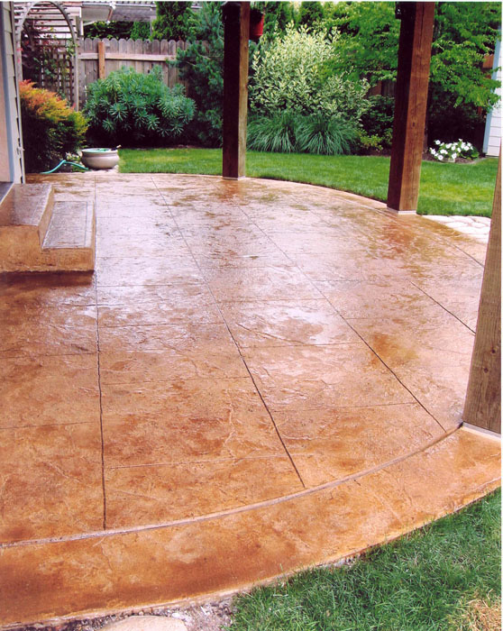 Concrete stain and seal Fort Collins, Loveland, Windsor, Greeley, Longmont, Berthoud, Estes Park, Cheyenne Wyoming