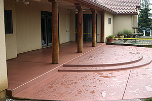 Concrete-Stain Fort Collins, Loveland, Windsor, Greeley, Longmont, Berthoud, Estes Park, Cheyenne Wyoming