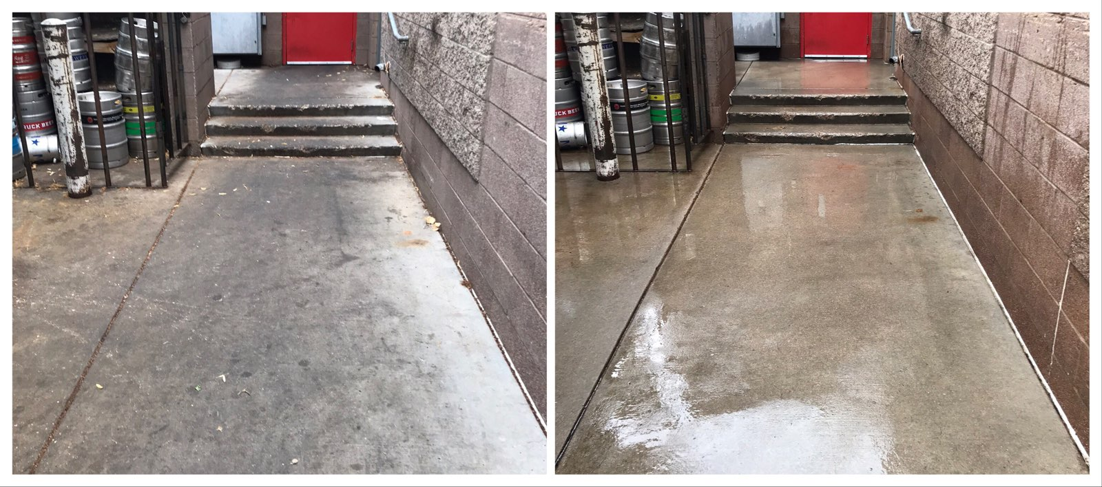 Restaurant Cleaning & Pressure Washing in Fort Collins, Loveland, Greeley, Windsor, Longmont, Berthoud Wellington, Estes Park, Cheyenne Wyoming and surrounding areas.