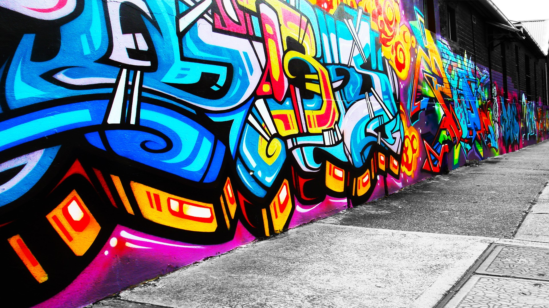 Street graffiti artwork wallpaper area hd wallpapers for Graffiti wallpaper