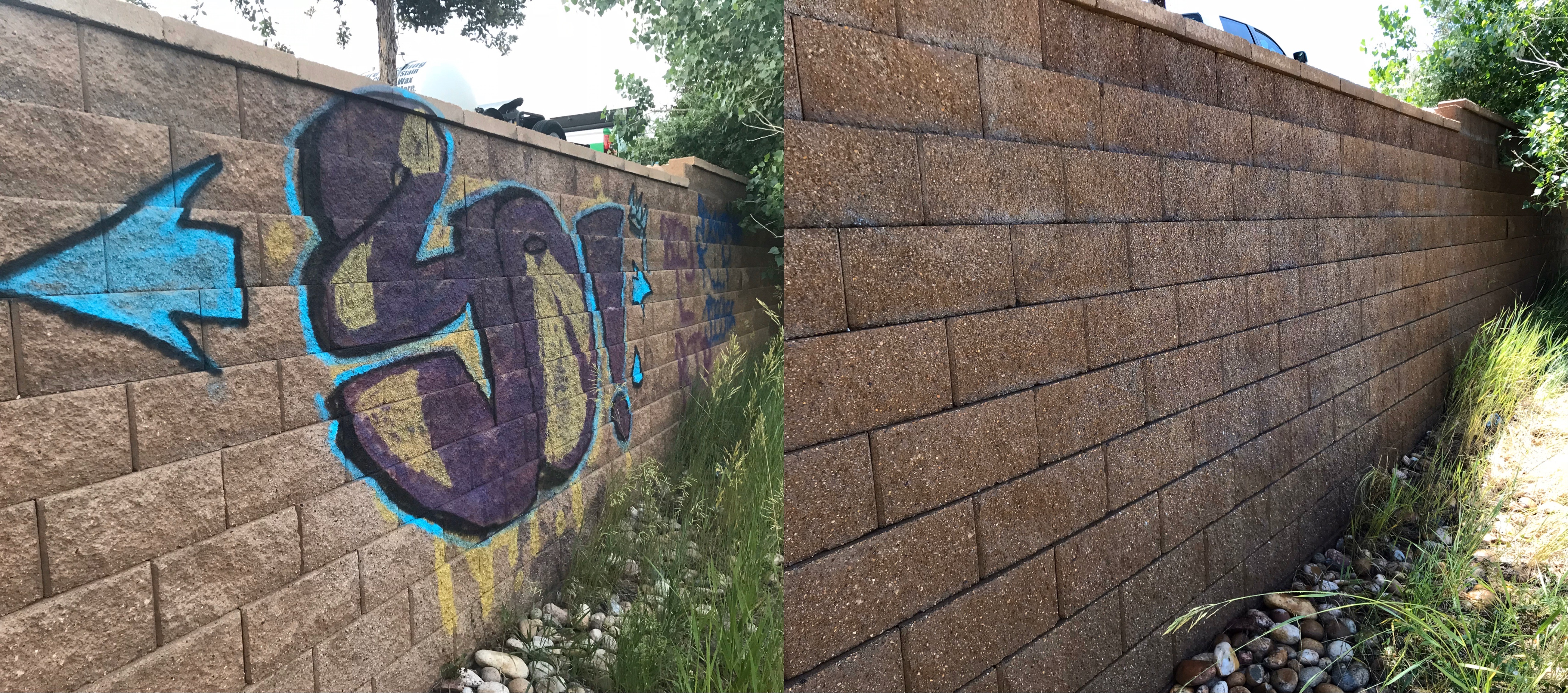 Graffiti Removal Service Areas Include: Fort Collins, Loveland, Windsor, Greeley, Longmont, Berthoud, Estes Park, Wellington, Cheyenne Wyoming