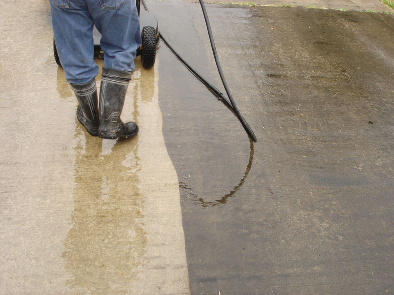 Hot water pressure washing Fort Collins, Loveland